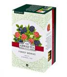 Чай травяной Ahmad Forest Berries (Ахмад Форест Берриз с лесными ягодами), пакетики в конвертах из фольги, 20 саше по 2г.