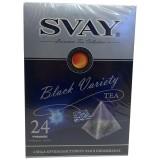 Чай SVAY Black Variety (24 пирамидки)