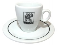 Кофейная пара Bonomi, чашка (68 мл) + блюдце