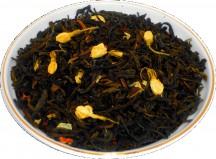 Чай зеленый Жасминовый сад, 500 г, крупнолистовой зеленый ароматизированный чай