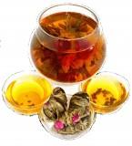 Чай связанный Букет Императора с жасмином, 500 г, крупнолистовой связанный чай