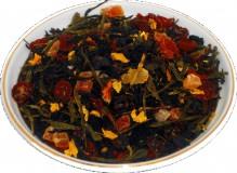 Чай черный Волшебная луна, 500 г, крупнолистовой ароматизированный чай