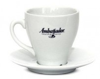 Кофейная пара Ambassador, чашка (168мл) + блюдце