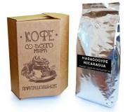 Кофе в зернах СВЕЖЕЙ ОБЖАРКИ Esperanto MARAGOGYPE NIKARAGUA (Эсперанто Марагоджип Никарагуа), моносорт, 0,5 кг, вакуумная упаковка