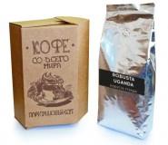 Кофе в зернах СВЕЖЕЙ ОБЖАРКИ Esperanto ROBUSTA UGANDA (Эсперанто Робуста Уганда), моносорт, 0,5 кг, вакуумная упаковка