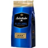 Кофе в зернах Ambassador Blue Label (Амбассадор Блю Лейбл) 1 кг, вакуумная упаковка