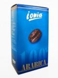 Кофе в зернах Ionia 100% Arabica (Иония 100% Арабика), кофе в зернах (1кг), вакуумная упаковка