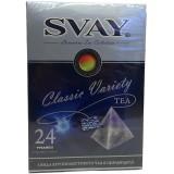 Чай SVAY Classic Variety (24 пирамидки)