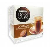 Кофе в капсулах Nescafe Dolce Gusto Cortado (Кортадо) упаковка 16 капсул