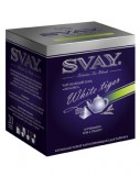 Чай Svay White Tiger (Белый тигр) Для чайников (20 пирамидок по 4гр.)