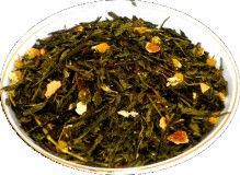 Чай зеленый Японская липа, 500 г, крупнолистовой зеленый ароматизированный чай