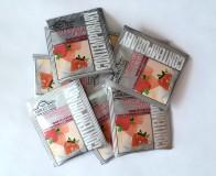 Чай черный Ahmad Strawberry Cream (Ахмад Строуберри Крим), пакетики с ярлычками, в конверте из фольги, хорека (300 саше по 1,8г)