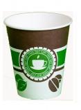 Стакан картонный одинарный под горячие напитки Чай Кофе, 400 мл, 50 шт./уп.